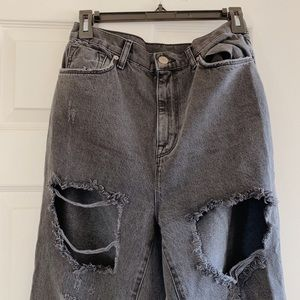 Urban Outfitters BDG Super Distressed Mom Jeans